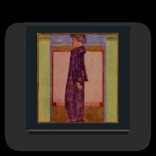 Art Baseのエゴン・シーレ / 1908 /Standing Woman / Egon Schiel Acrylic Block