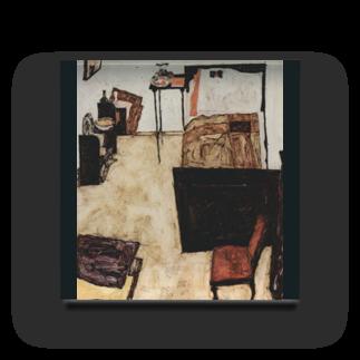 Art Baseのエゴン・シーレ / 1911 /Schiele's Room in Neulengbach / Egon Schiele Acrylic Block