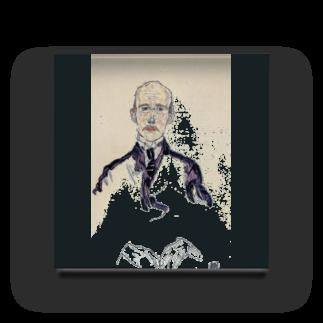 Art Baseのエゴン・シーレ / 1917 / Portrait of Karl Maylander / Egon Schiele Acrylic Block