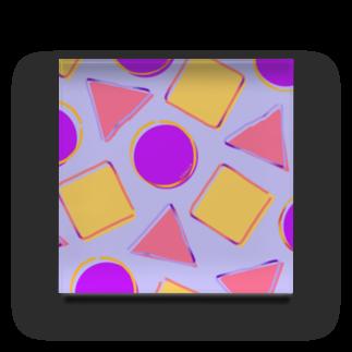 下之下の三四丸−青 Acrylic Block