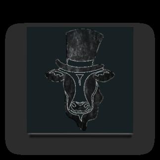 Mattyanの牛が良き(dark) Acrylic Block