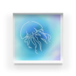 癒しのクラゲ Acrylic Block