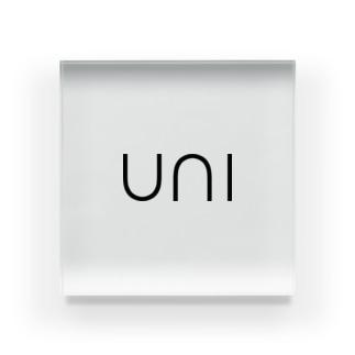 SUSHI NETA_uni Acrylic Block