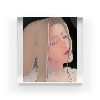 【ブス界へようこそ】 「自分を救う方法」 Acrylic Block
