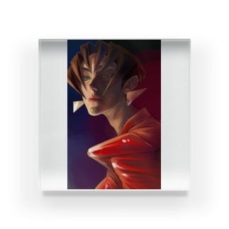 【ブス界へようこそ】 「エモい草」 Acrylic Block