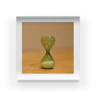 砂時計 Acrylic Block
