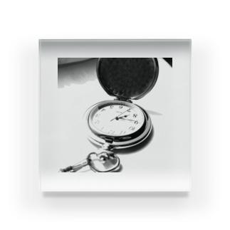 懐中時計 Acrylic Block