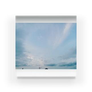 夏の空 Acrylic Block