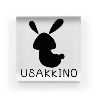 USAKKINO(シルエット) Acrylic Block