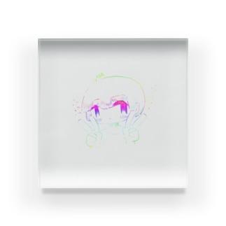 レインボーガール4 Acrylic Block
