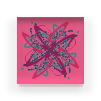 Graphic♯1 Acrylic Block