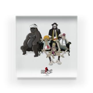 Play@Sry -mamber- Acrylic Block