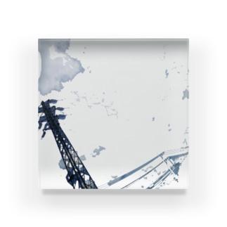 曇?雲 Acrylic Block