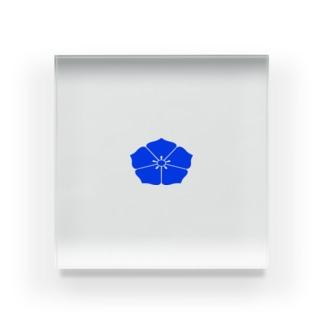 明智桔梗紋 Acrylic Block