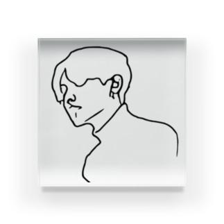 Boy.6 Acrylic Block