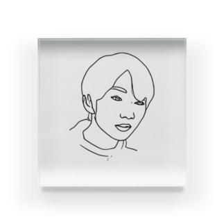 Boy.8 Acrylic Block