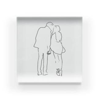 Couple.1 Acrylic Block