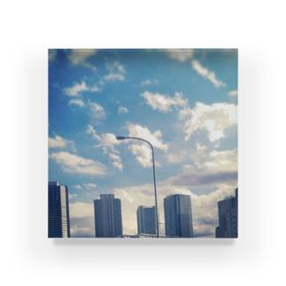 お陰で今日も空は青い Acrylic Block