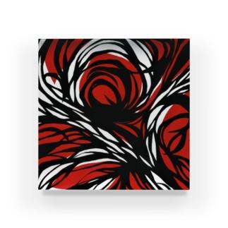赤い絵 Acrylic Block
