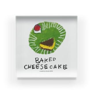 チーズケーキ のらしおん Acrylic Block