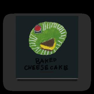 門前喫茶Norahのチーズケーキ のらしおん Acrylic Block