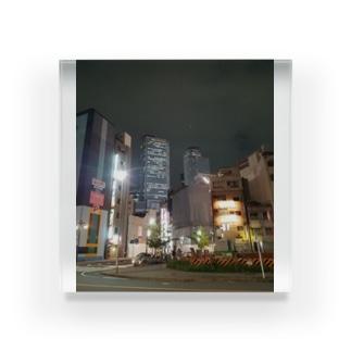 街 Acrylic Block