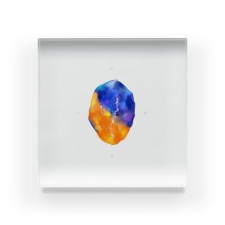 鉱物/holy Acrylic Block
