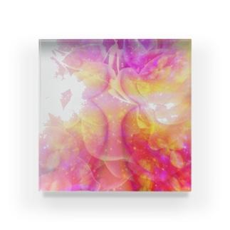桃色art  Acrylic Block