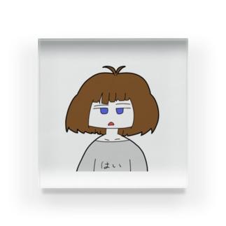 若手バーチャルキャラクター Acrylic Block