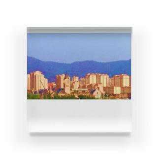TOP OF THE CITY Acrylic Block