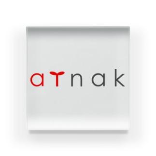 ainak公式ロゴ入りグッズ Acrylic Block