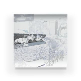 silver interior Acrylic Block
