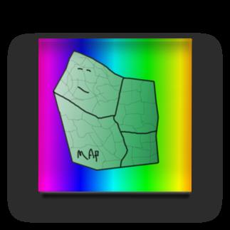 水草のMAPたん2 Acrylic Block