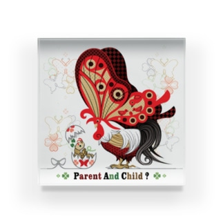 PARENT AND CHILD?(remake) Acrylic Block