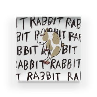 _t__r_o_o_m_のRABBIT Acrylic Block