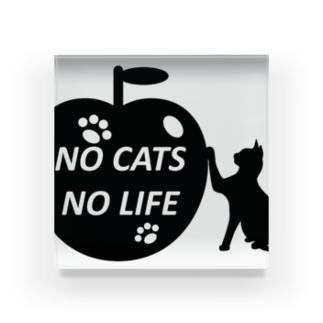 乃舞のNO CATS NO LIFE Acrylic Block