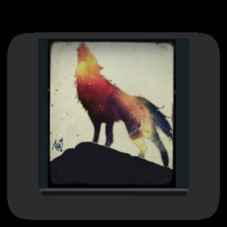 A*SUKEの狼 Acrylic Block