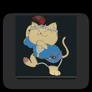 タマのちょびりげ❣️の踊り猫 Acrylic Block