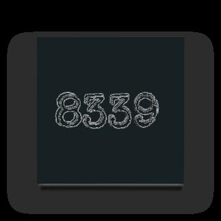 hachi08のナンバーシリーズ 8339 Acrylic Block
