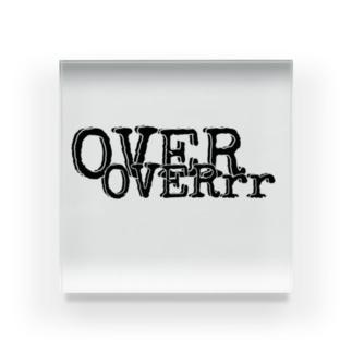 OVERシリーズ2 Acrylic Block