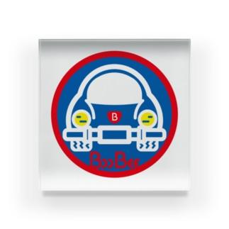 パ紋No.3403 BooBee  Acrylic Block