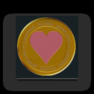ジェムたん٩(๑òωó๑)۶のLove coin Acrylic Block