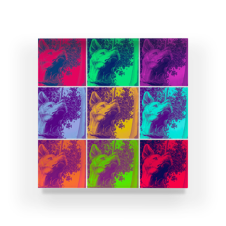 chanleleのSAIGO-KEN Acrylic Block