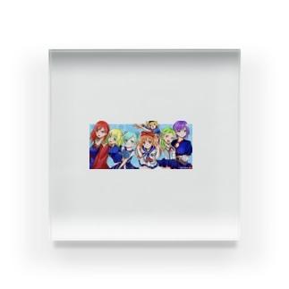 もも太海賊団 女子メンバー Acrylic Block