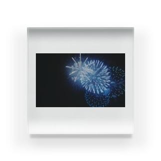 青々花火 Acrylic Block