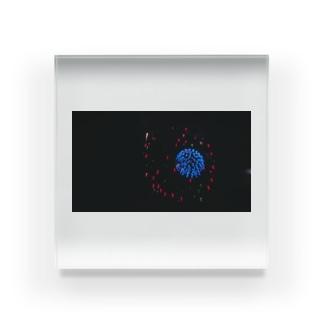 ぼやぼや花火 Acrylic Block