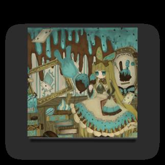 群青のチョコミント Acrylic Block