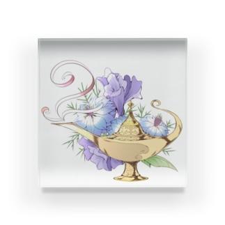 魔法のランプ Acrylic Block
