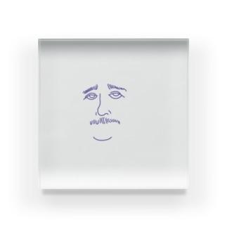 アインシュタインが見ている Acrylic Block