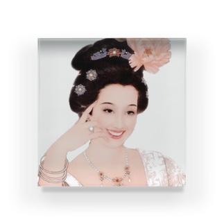故宮口红 - 中国風 - 白桃 Acrylic Block
